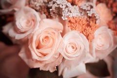 Boeket van rozen Stock Afbeeldingen