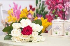 Boeket van rozen royalty-vrije stock foto