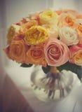 Boeket van rozen Stock Afbeelding