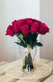 Boeket van rozen Royalty-vrije Stock Afbeeldingen