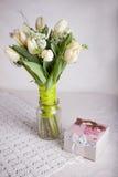 Boeket van tulpen stock fotografie