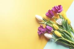 Boeket van tulpen royalty-vrije stock fotografie