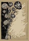 Boeket van wilde bloemen vector illustratie