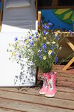 Boeket van wilde bloemen Stock Fotografie