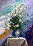Boeket van wilde bloemen Royalty-vrije Stock Afbeeldingen