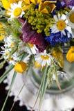 Boeket van wildflowers Stock Afbeeldingen