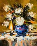 Boeket van witte bloemen Royalty-vrije Stock Foto