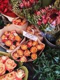 Boeketten van rozen Royalty-vrije Stock Foto