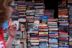 Boekhandel in Delhi Royalty-vrije Stock Afbeeldingen