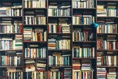 boekhandel Openbare Oude Bibliotheek Het concept van de creativiteit royalty-vrije stock foto