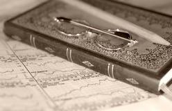 Boekhouding stock afbeelding