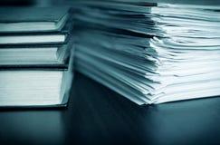 Boekhouding en belastingen royalty-vrije stock fotografie