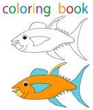 boekkleuring Stock Afbeelding
