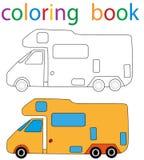 boekkleuring stock illustratie