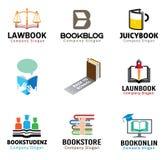 Boekobjecten Symboolillustratie Stock Fotografie
