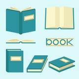 Boektekens en symbolen Royalty-vrije Stock Afbeeldingen