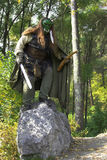 Boeman in het bos royalty-vrije stock afbeeldingen