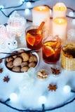 Bożenarodzeniowe dekoracje z świątecznym nastrojem Zdjęcie Royalty Free
