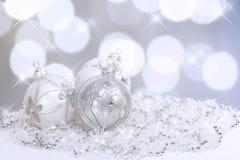 Bożenarodzeniowi Ornamenty Zdjęcie Stock