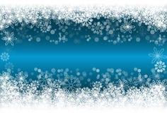 Bożenarodzeniowy płatka śniegu tło Zdjęcia Royalty Free