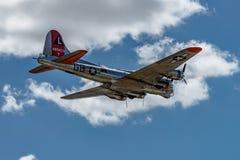 Boening B-17G飞行堡垒`美国人夫人` 免版税库存图片