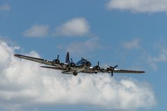 Boening B-17G Flying Fortress Royalty Free Stock Images