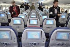 Boening 787 Dreamliner Fotografie Stock Libere da Diritti