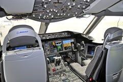 Boening 787 Dreamliner Fotografia Stock Libera da Diritti