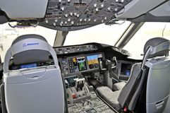 Boening 787 Dreamliner Royalty Free Stock Photography