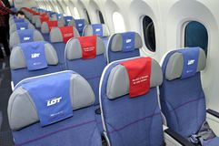 Boening 787 Dreamliner Royalty Free Stock Images