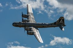 BoeningB-29 nadfortecy ` FIFI ` Zdjęcia Royalty Free