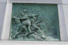 Boer War Memorial at Dorchester Square in Downtown, Montreal, Quebec, Canada Stock Photography