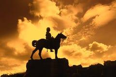 Boer War Monument In Princes Street Gardens Stock Image