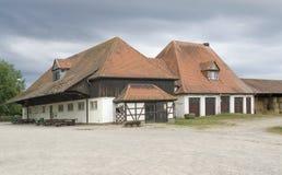 Boerderij in Zuidelijk Duitsland Stock Foto's