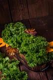 Boerenkoolbrassica oleracea Royalty-vrije Stock Foto