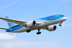 Boering 787 Dreamliner Royalty Free Stock Photos