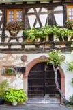 Boersch (Alsace) - House Stock Images