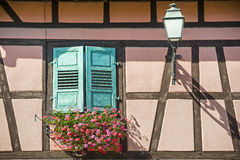 Boersch (Alsace) - House Royalty Free Stock Images