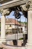 Boersch (Well Alsace) - Royaltyfri Foto