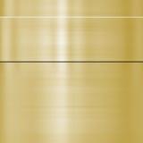 Boete geborsteld gouden metaal vector illustratie