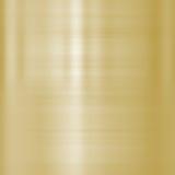 Boete geborsteld gouden metaal stock illustratie