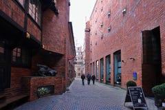 Boettcher street in Bremen Germany. Boettcher street building in Bremen Germany Stock Images