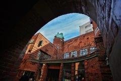Boettcher street in Bremen Germany. Boettcher street building in Bremen Germany Stock Photography