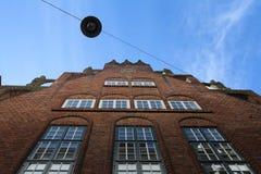 Boettcher Street in Bremen, Germany. Historic Boettcher Street building in Bremen, Germany Stock Photography