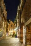 Boettcherstreet par nuit photographie stock libre de droits