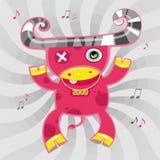 boeuf 2009 de dessin animé Photographie stock libre de droits