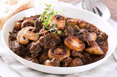 Boeuf Bourguignon Royalty Free Stock Photos