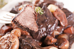 Boeuf Bourguignon Royalty Free Stock Image