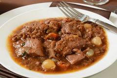 Boeuf Bourguignon Royalty Free Stock Images