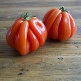 boeuf coeur de tomatoes 图库摄影